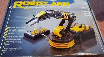 Wired Control Robotic Arm Kit