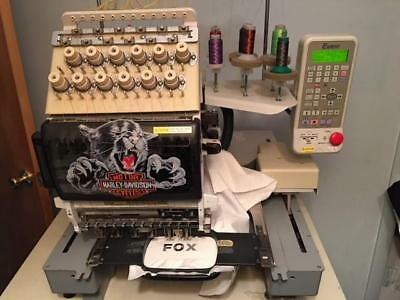 Embroidery Machine Toyota Exp 860 12 Needle Commercial Industrial Home Business