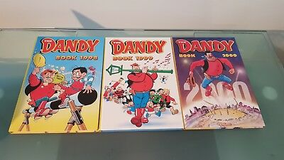 The Dandy Annuals 1998, 1999 and 2000