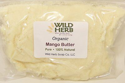 MANGO BUTTER, Organic l BULK SIZES l Raw, Top Grade l Unrefined l 8 oz to 20 lbs
