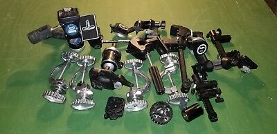 Large lot of Tripod heads And Other Studio Equipment