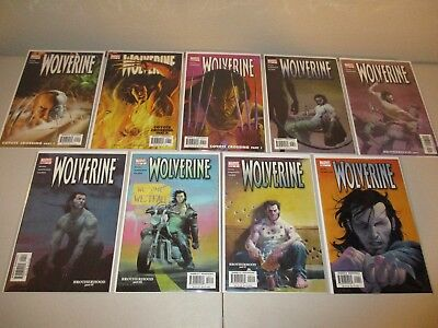 Wolverine #1-9 VF/NM (Lot of 9)  Marvel 2003 Series  ~Rucka~ 1 2 3 4 5 6 7 8 9