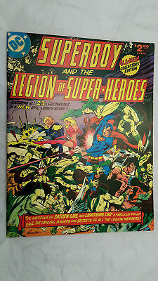 High grade SUPERBOY and the LEGION of SUPER HEROES DC Treasury Edition C55 Grell