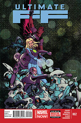 Ultimate Ff #2 (2014) Vf/nm Marvel