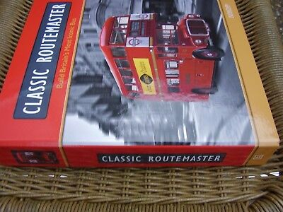 London Bus Classic Routemaster Red Build Your Own Hachette 1:12 Mag Binder