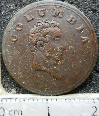 UK - Unofficial Farthing 1820-30 (Columbia) ... (9290)