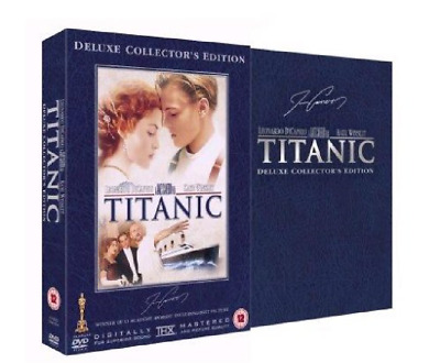 Titanic (1997) (4 Disc Deluxe Collector's Edition) (UK DVD PAL, Reg 2)  Like New