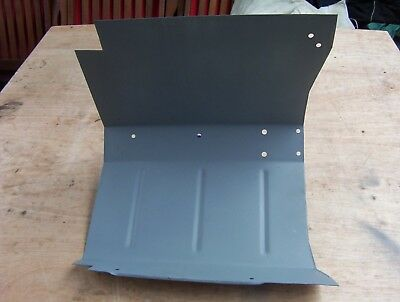 land rover series 3 lightweight passenger side footwell