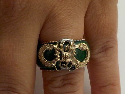 Beautiful Jade Ring Family Clearance Find