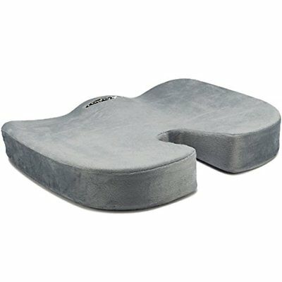 Aylio Coccyx Seat Cushion Back Support, Tailbone and Sciatica Pain Relief,
