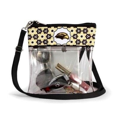 Southern Miss Golden Eagles Clear Game Day Crossbody Bag Stadium Approved  Purse 2dc930783