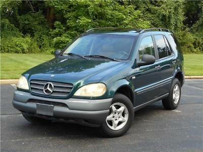 M-Class ML320 LOW 76K MILES 1OWN NON SMOKER CLEAN CARFAX! 1999 MERCEDES BENZ ML320 LOW 76K MILES 1OWN NON SMOKER 350 430 500 CLEAN CARFAX!