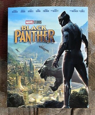 Marvel's Black Panther (Blu-ray disc, 2018) Target Story Book Limited Edition