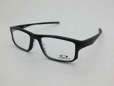NEW Authentic OAKLEY VOLTAGE OX8049-0155 Satin Black 55mm Rx Eyeglasses