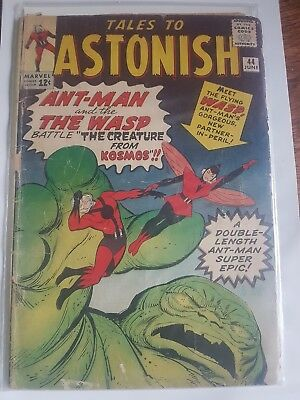 Marvel TALES TO ASTONISH 44 ANT-MAN  1ST WASP