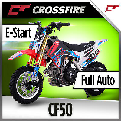 Crossfire CF50 Kids 50cc Dirt Bike Full-Auto Motorbike
