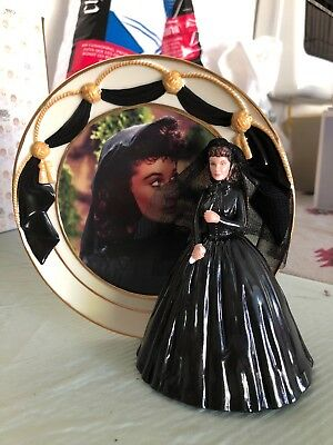 Reflections Of Scarlett 4 Plate/Figurine Sets Gone With The Wind MINT Condition!