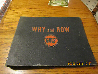Vintage Gulf Oil Refinery Manuals Guide Book