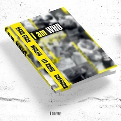 K-POP STRAY KIDS 2nd Mini Album [I am WHO] I am Ver. CD+Book+Photocard+Lyrics