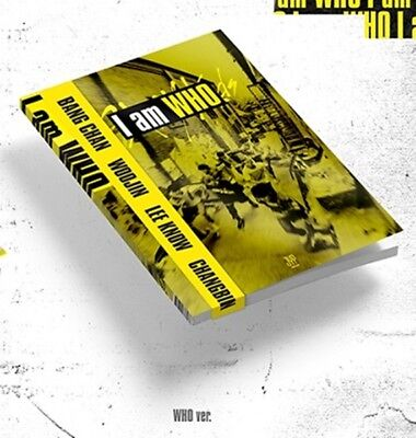 K-POP STRAY KIDS 2nd Mini Album [I am WHO] WHO Ver. CD+Book+Photocard+Lyrics