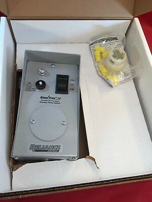"Reliance Controls TF151W Easy/Tran TF Transfer Switch with 18"" Aluminum Conduit"