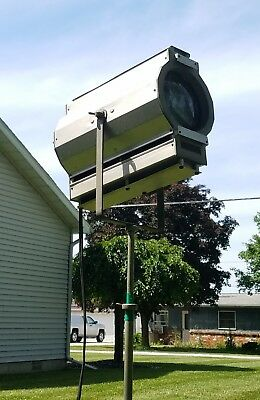 Vintage Studio Theatrical Stage Spotlight W/ Stand Youngstown, OH Work's Rare!!!