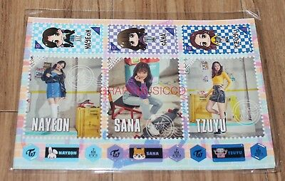 TWICE 2ND TOUR TWICELAND ZONE 2 : Fantasy Park IN JAPAN GOODS STICKER SET NEW