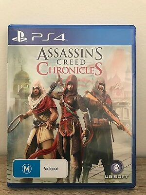 Assassin's Creed: Chronicles PS4 (Sony) Brand New In Stock From Sydbey