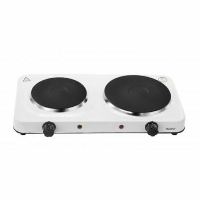 Portable 2500W Double Twin Electric Hot Plate Cooking Hob Cooker Hotplate Stove