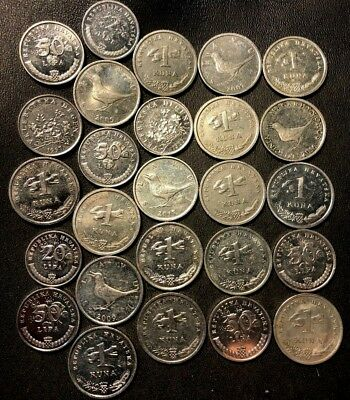 Old CROATIA Coin Lot - 26 High Quality Coins - Great Group - Lot #915