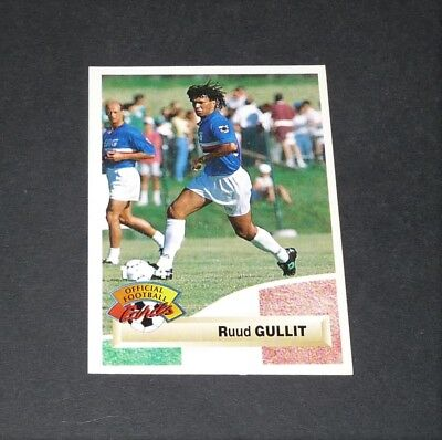 PANINI SUPERPLAYERS 1996 #065-CHELSEA /& HOLLAND-MILAN-SAMPDORIA-PSV-RUUD GULLIT