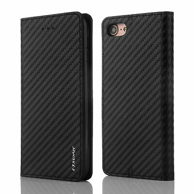 Case for Apple iPhone XS 6 7 8 5S SE Plus Cover Magnetic PU Leather Flip Wallet