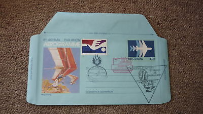 Old Hot Air Balloon Flight Cover, 1986 Stampex Aerophilately Day Sunpex