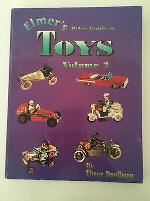 Elmer's Price Guide to Toys Vol. II by Elmer Duellman (1996, Paperback)