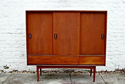 Rare & Desirable Mid Century Modern Cabinet By Austinsuite Of London - Sideboard