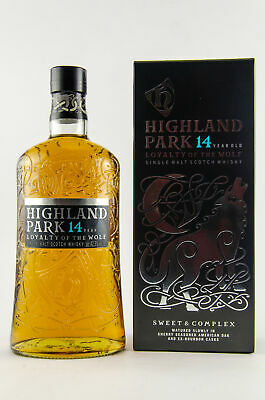 HIGHLAND PARK 14 y.o. - LOYALTY OF THE WOLF - 42,3% 1x1,0L sweet & complex
