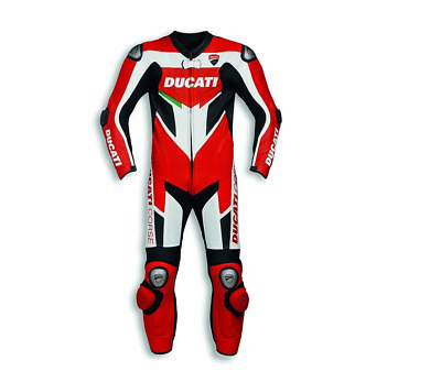 Racing Suit DucatI Corse C3 Male one piece leathers  gloves & boots custome made