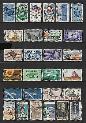 USA - mixed collection No.65, early 1960s