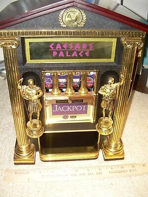 Ceasars Palace Franklin Mint Slot Machine