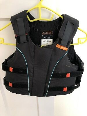 Aerowear Junior Outlyne Size Y3 Regular Equestrian Body Protector