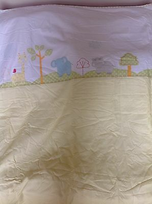 Mothercare Snoozie Safari Coverlet For A Cot Or Cot Bed...brand New