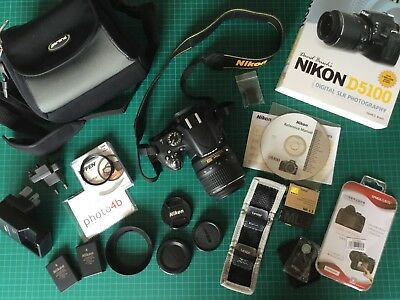 NIKON D5100 Complete Kit (Shutter Count Approx 3,000)