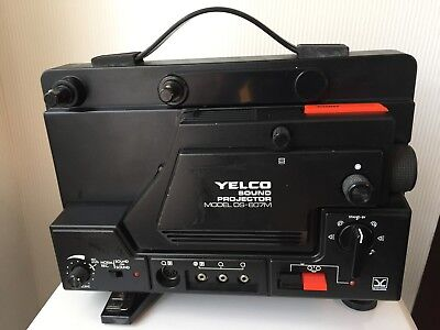 Yelco 8mm super sound projector model DS-607M