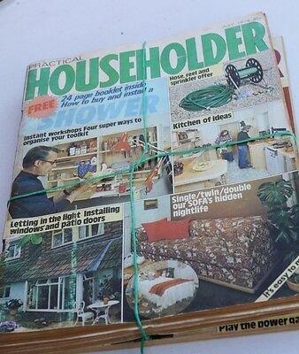 Practical Householder Magazine - 1979 various issues