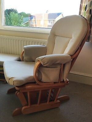 John Lewis Nursing Chair With Gliding Footstool