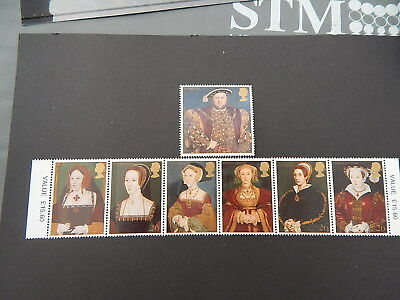 gb stamps. S G 1965-1971.450th. Death Anniversary of King Henry VIII.