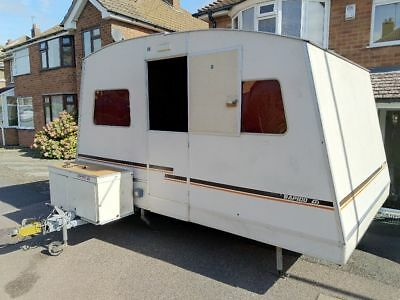 Rapid Recordmatic Folding Caravan