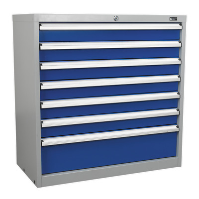 API9007 Sealey Industrial Cabinet 7 Drawer [Industrial Workstations]