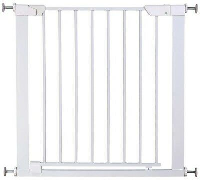 Cuggl Pressure Fit or Auto Close Safety Gate - White.