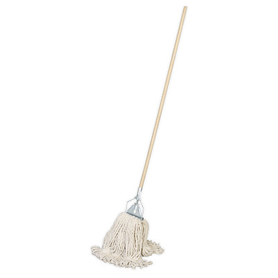 BM03 Sealey Tools Kentucky Mop 450g with Handle [Janitorial] Mops